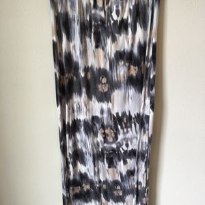 Wet Seal Skirts - Wet Seal grey and white tie-dye skirt
